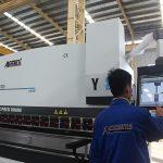 сенсорный экран управление cnc пресс-тормоз машина 6 ось 220T 4000MM мощность двигателя сименс