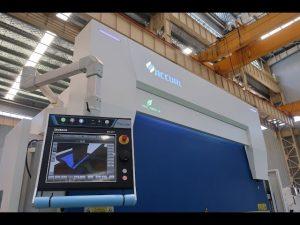 8-осевой гидравлический прессовый пресс с ЧПУ 110 тонн 3200 мм