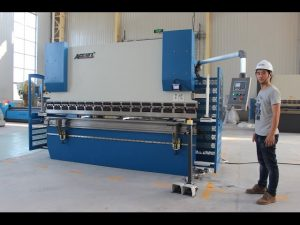 CE 2 оси CNC Press Brake 130Tx3200 E200 NC Система управления NC Press Brake Machine