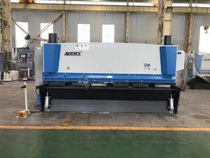 Гидравлическая гильотинная машина для резки 3200 мм x 8 мм с пневматической поддержкой материала