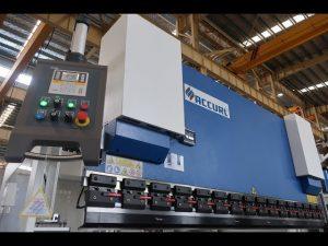 Гидравлический прессовый тормоз MB7-100Tx3200 мм с защитным лазером и системой ELGO P40 NC