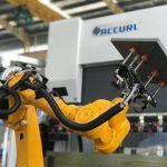 Роботизированная система изгибов для автоматического автоматического прессования пресс-форм из листового металла