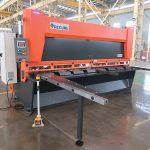 QC11y K-4X2500 листовая сталь гидравлическая гильотинная машина для резки алюминия