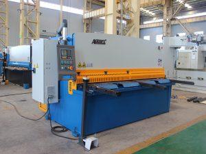 QC11y-16X3200 cnc резка нержавеющая сталь автоматическая гидравлическая гильотиновая машина для листового железа с E21