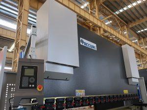 CNC NC автоматическая электрическая гидравлическая горизонтальная сборная сталь листовая сталь резка и гибка прессовый тормоз машина цена на продажу