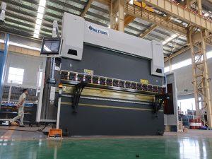 европейский стандарт delem DA52 автоматический гидравлический cnc прессовый тормозной станок