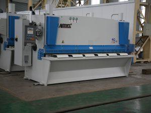 QC11Y cnc гидравлический ножничный станок, стальная машина для резки cnc, машина для резки листового металла