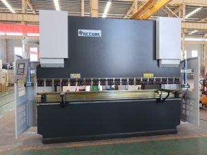 безопасность б / у NC пресс тормоз сервис стальной гибочный станок 80T 2500mm WC67K
