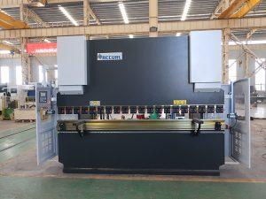 пластинчатый гибочный станок Wc67y 100t 3200 CNC нержавеющая сталь гидравлический прессовый тормоз